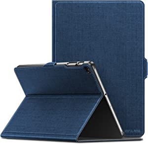 Infiland Samsung Galaxy Tab A 10.1 2019 Case, Multiple Angle Stand Cover Compatible with Samsung Galaxy Tab A 10.1 Inch Model SM-T510/SM-T515 2019 Release Tablet, Navy