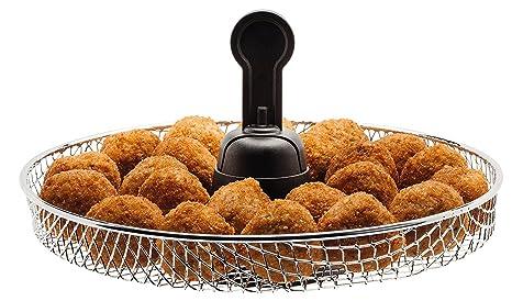Tefal Actifry Express Snacking FZ751020 - Freidora (una cucharada de aceite, capacidad hasta 5 personas, incluye accesorio Snacking para alimentos blandos) ...