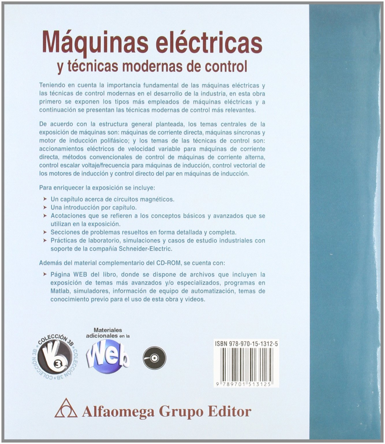 Máquinas Eléctricas y Técnicas Modernas de Control: Amazon.es: Pedro Ponce: Libros