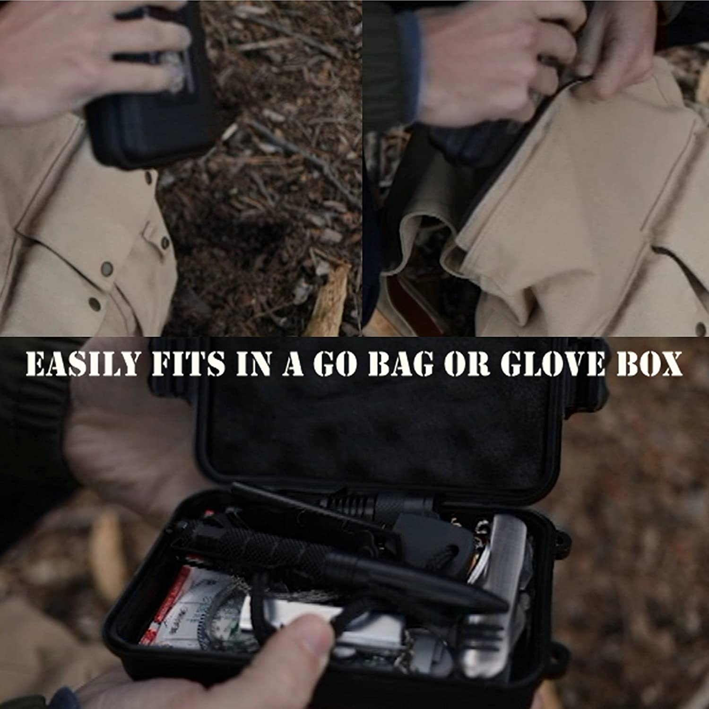 Mua sản phẩm Emergency Survival Kit UPGRADED #1 BEST 43 in 1
