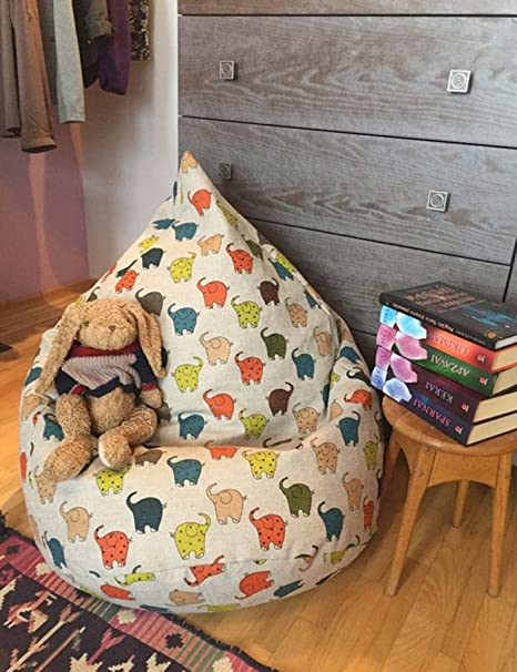 Amazing Buy Style Crome Kids Fun Design Hd Printed Bean Bag Cover Machost Co Dining Chair Design Ideas Machostcouk