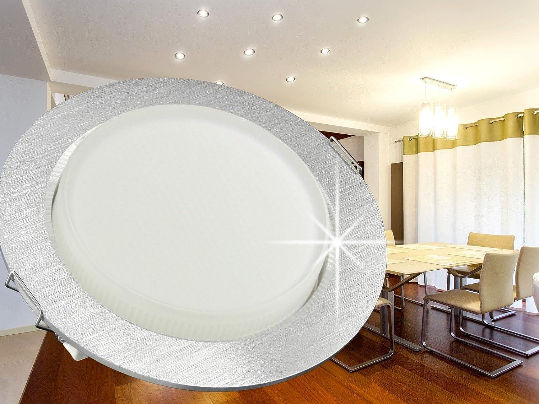 LED Einbau-Strahler flach (25mm) für 230V - SSC-LUXon Einbau-Leuchte ...