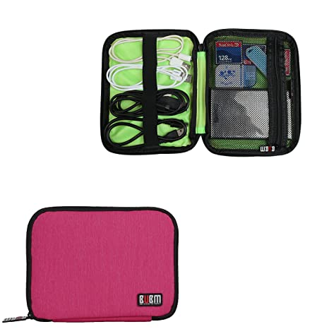 Amazon.com: BUBM Mini disco duro Carry Bag/Cable ...