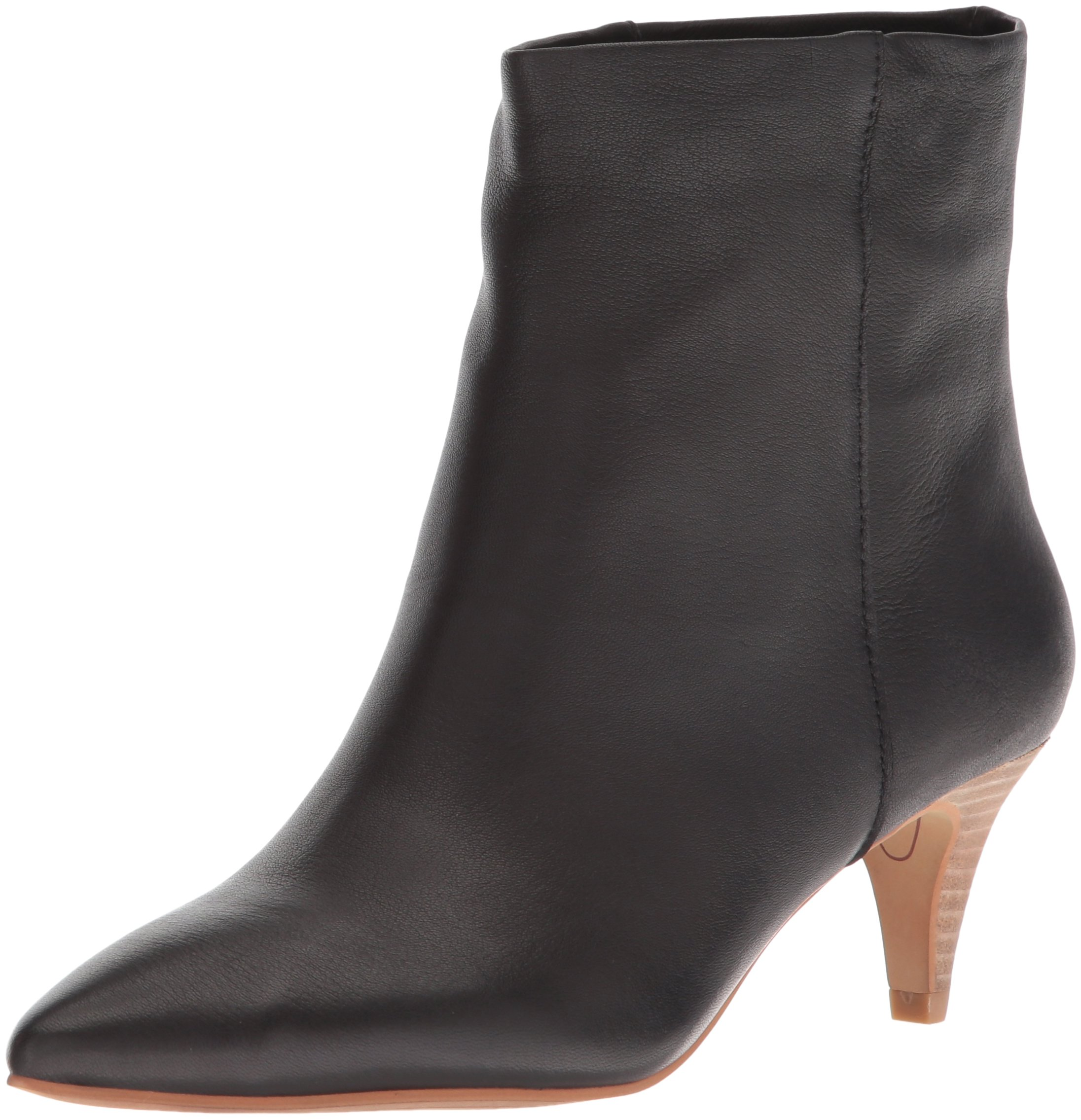 Dolce Vita Women's Deedee Ankle Boot, Black Leather, 9 M US