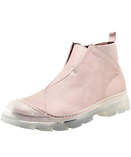 1bbd98d2157 Lofina Women's Leather Ankle Booties Pink: Amazon.co.uk: Shoes & Bags