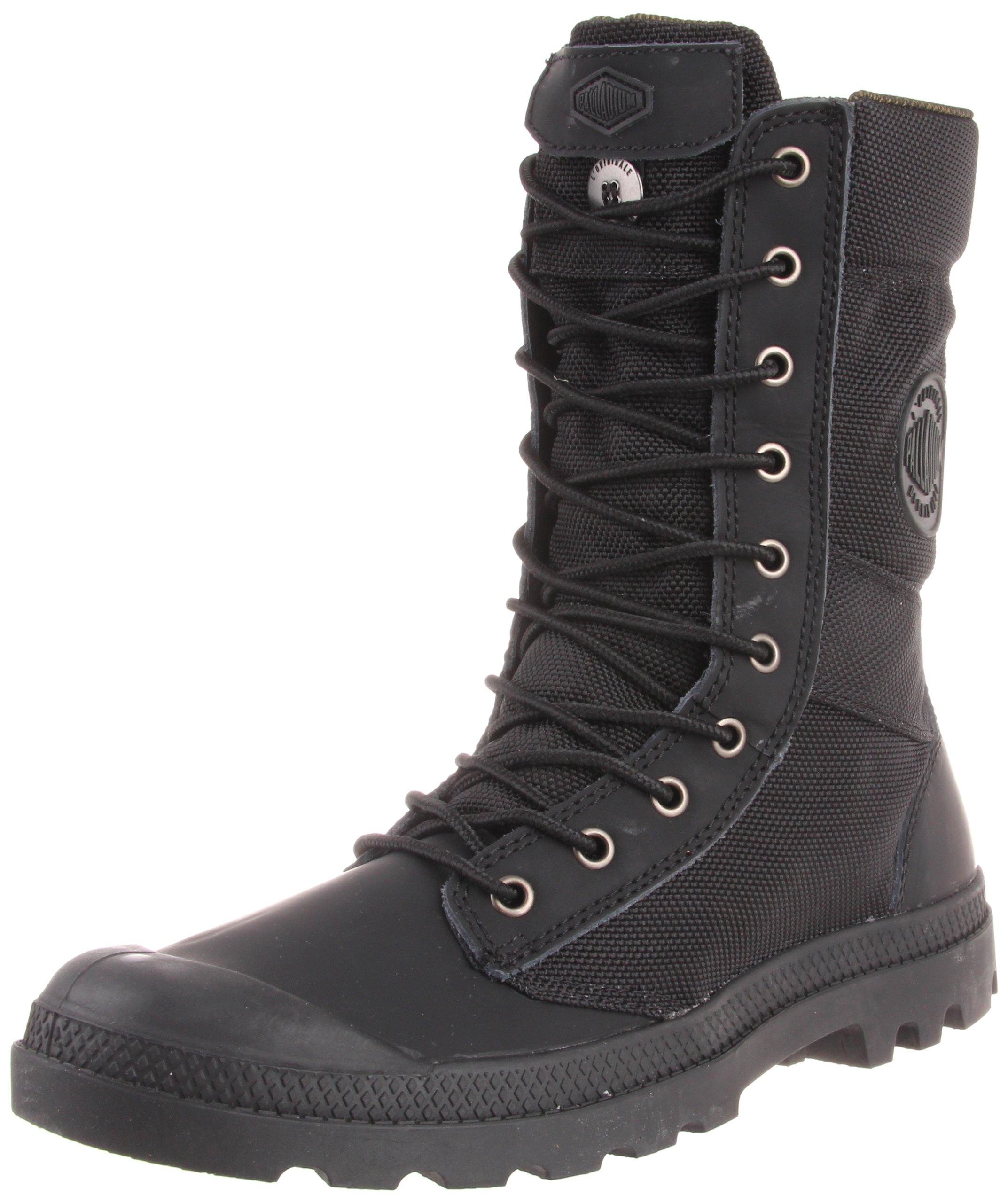Palladium Men's Pampa Tactical Boot,Black/Metal,7.5 M US