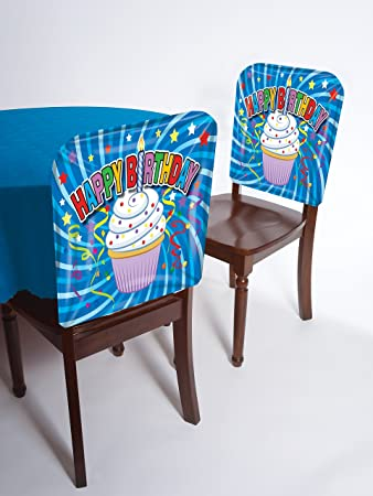 Birthday Party Chair Cover