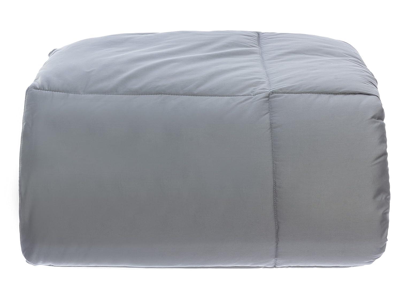 Design Weave All Season Temperature Regulating Hypoallergenic Comforter King Gray Outlast SA-300COMK-STO