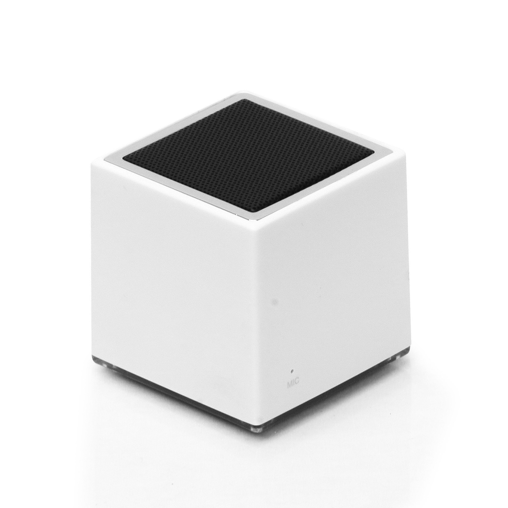clambo BT21A-WHT Bluetooth Mini Cube Speaker