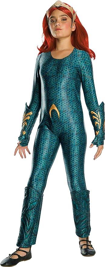 Rubie's Girls Aquaman Movie Child's Deluxe Mera Costume, Medium