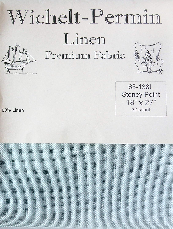 Wichelt Stoney Point Hand Dyed 32 Ct Linen Cross Stitch Fabric 18 x 27