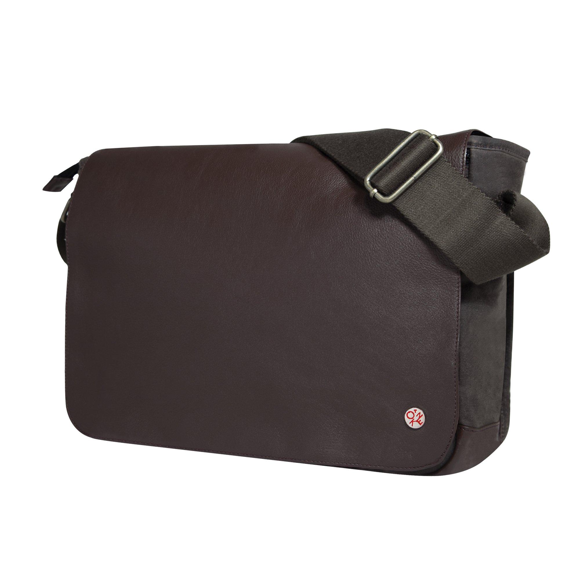 Token Bags Sheridan Waxed Shoulder Bag, Dark Brown, One Size
