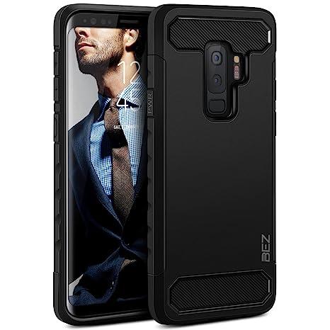 BEZ Coque pour Samsung Galaxy S9 Plus, Housse Etui Antichoc Samsung Galaxy  S9 Plus Robuste 9e07f903df0c