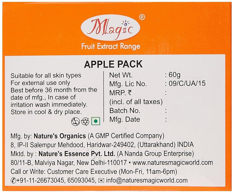 Nature's Essence Apple Skin Polisher Pack, 60gm
