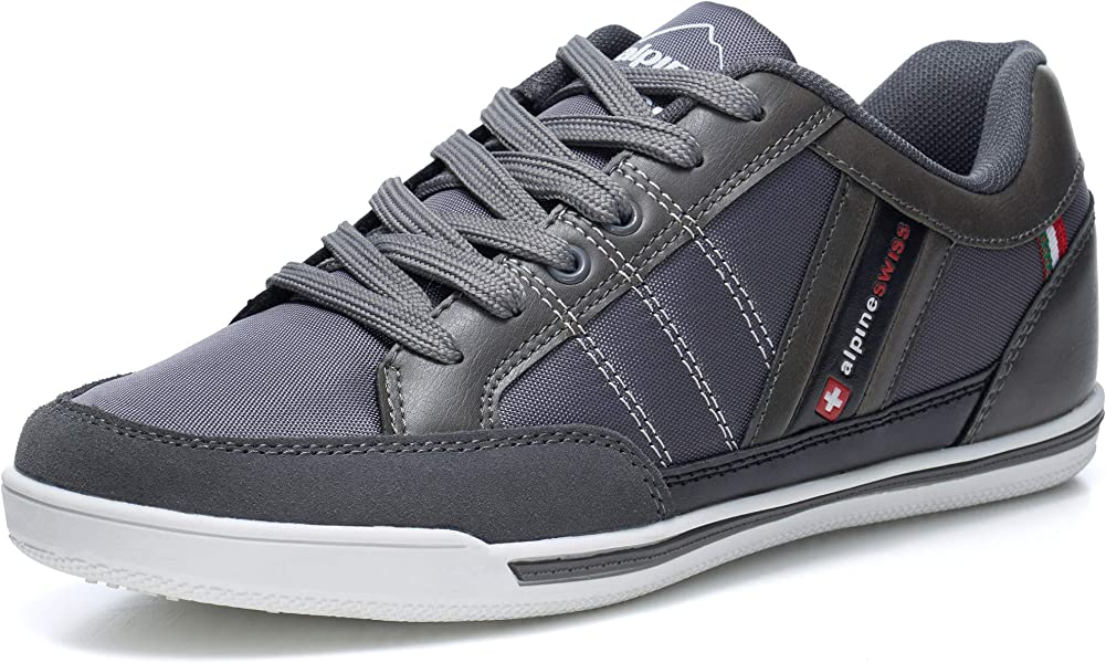 alpine swiss Mens Stefan Suede Trim Retro Fashion Sneakers - 10151203 , B01G4JI0XO , 285_B01G4JI0XO , 1293342 , alpine-swiss-Mens-Stefan-Suede-Trim-Retro-Fashion-Sneakers-285_B01G4JI0XO , fado.vn , alpine swiss Mens Stefan Suede Trim Retro Fashion Sneakers