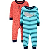 Carter's Boys' 2-Pack Cotton Footless Pajamas