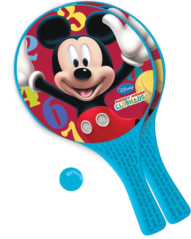 Disney Mondo Micky Maus Paddel Schl/äger-Set