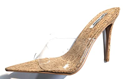 9eb9d763a44 Amazon.com | CAPE ROBBIN Melrose Nude Cork Wrapped Slip-On Mule ...