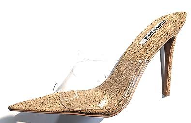 43c4cfc3411 Amazon.com | CAPE ROBBIN Melrose Nude Cork Wrapped Slip-On Mule ...