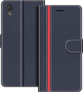 COODIO Funda Sony Xperia L1 con Tapa, Funda Movil Sony Xperia L1 ...