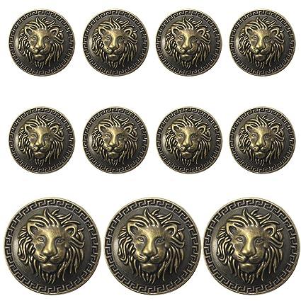 amazon com 11 pieces bronze vintage antique metal blazer button set