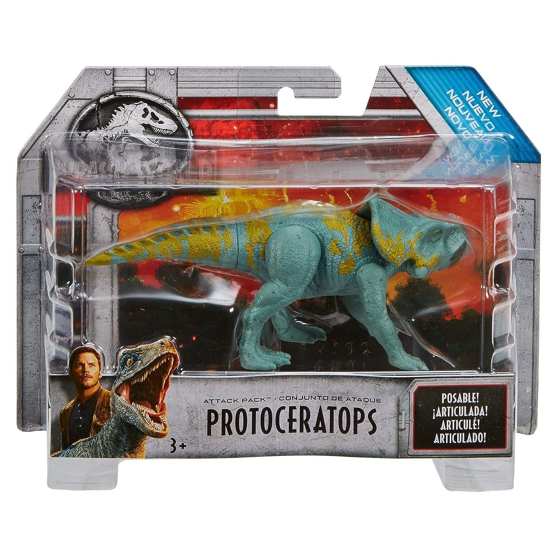 Mattel Jurassic World FVJ92 - Protoceratops Attack Pack