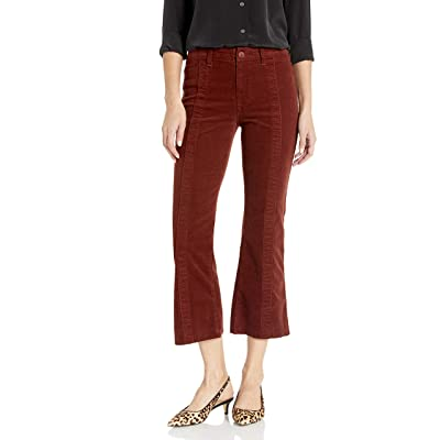 AG Adriano Goldschmied Women's Vintage Coruroy Panelled Quinne Crop: Clothing