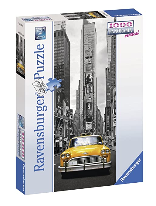 New York Taxi 1000 Piece Puzzle