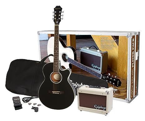 Epiphone pr-4e Electroacústica guitarra jugador
