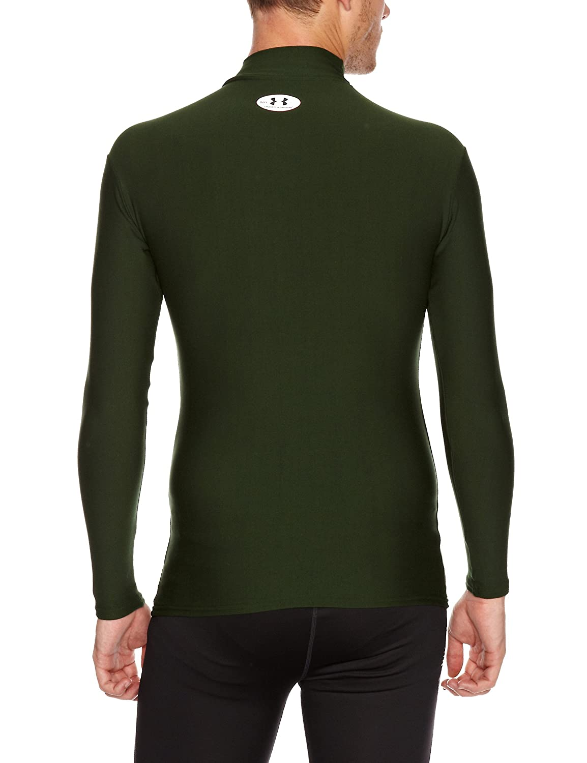 Under Armour Aggression ColdGear Mock Neck Top