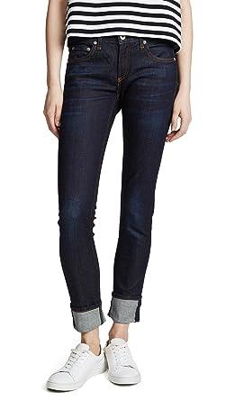 3a460b79d66 Rag & Bone/JEAN Women's The Dre Skinny Boyfriend Jeans, Beverlys, ...