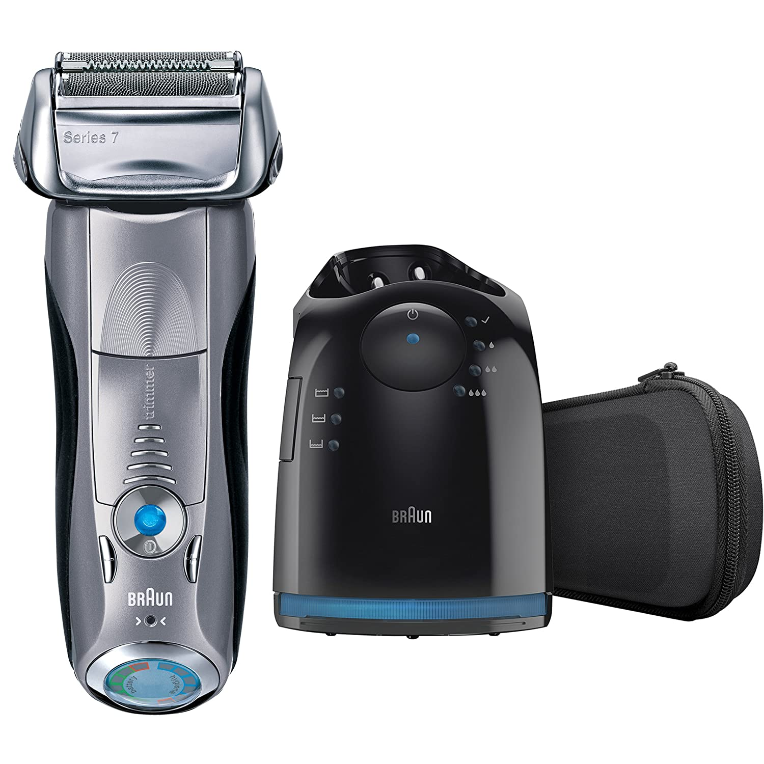 Braun Series 7 790cc-4 Men s Electric Foil Shaver with Clean and Charge  Station Rechargeable and Cordless Razor  Amazon.co.uk  Health   Personal  Care 746c624a73