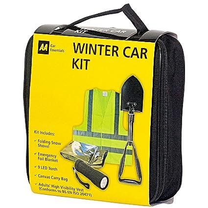 SafeTravel Dorado Kit de emergencias para aver/ías en invierno