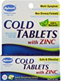 Hyland's Cold Tablets, with Zinc, 50 Tablets