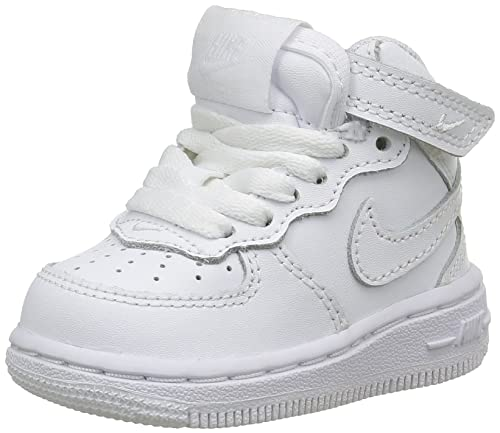 low priced 90935 9d325 Nike Force 1 Mid (TD), Zapatos de Primeros Pasos Bebé-para Niños:  Amazon.es: Zapatos y complementos