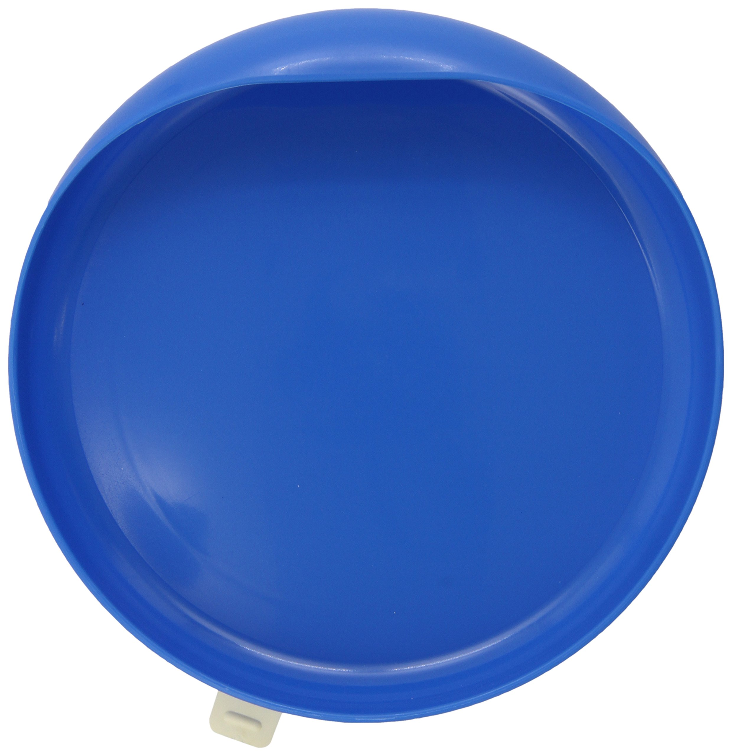 Ableware Scooper Plate with Suction Cup Base, Blue (745350012)