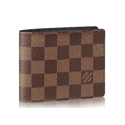 32aba67f58e Amazon.com  Louis Vuitton Damier Slender Wallet Article  N61208 Made ...