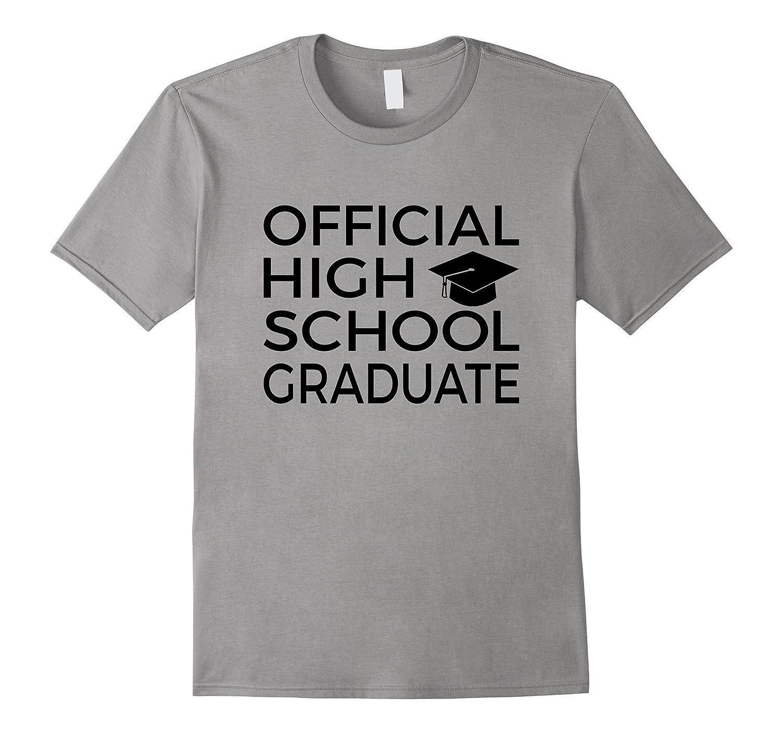 Offical High School Graduate Graduation Gift T-Shirt-Vaci