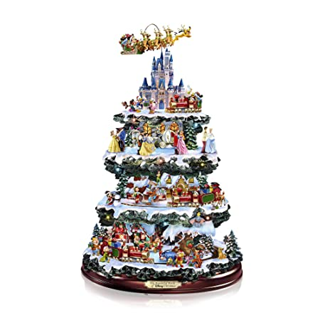 The Bradford Exchange Officially Licensed By Disney Tabletop Christmas Tree 16 Inches The Wonderful World Of Disney
