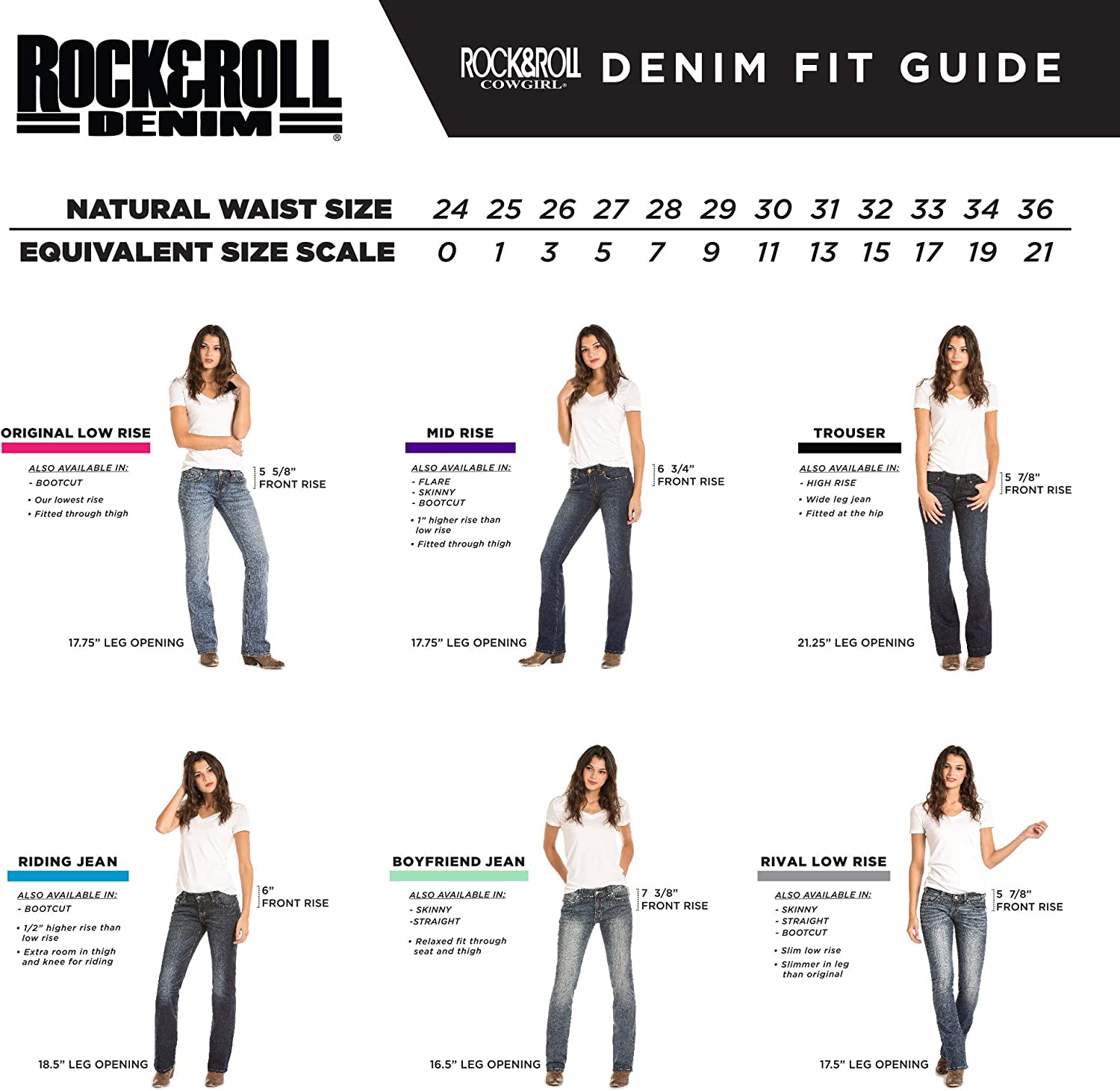 Rock /& Roll Cowgirl Spellbound Trouser