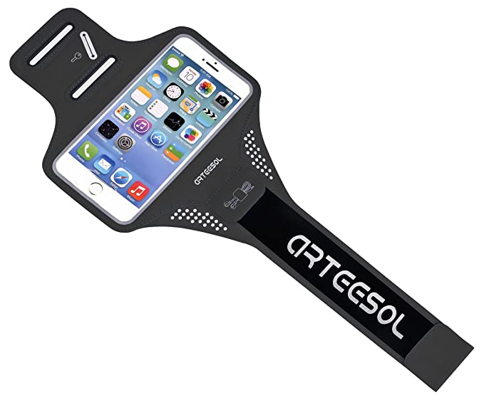 super popular 14799 1dc6d ARTEESOL iPhone 7 Running Armband, Waterproof Cell Phone Holder 4