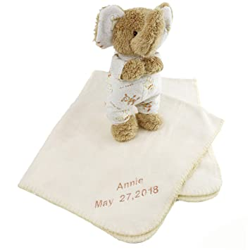 Amazon Com Bstaofy Personalized Throw Blanket Newborn Gifts For