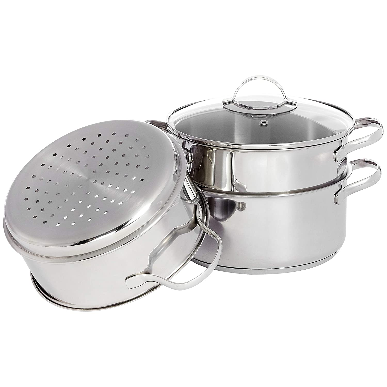 Amazonbasics - Juego de utensilios de cocina de inducción de ...