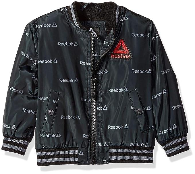 50c74b3f141e4 Amazon.com: Reebok Boys' Active Varsity Jacket: Clothing