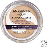 COVERGIRL & OLAY Simply Ageless Instant Wrinkle Defying Foundation.4 oz