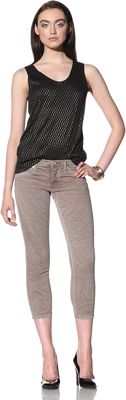 David Kahn Womens Lana Skinny Crop Jean