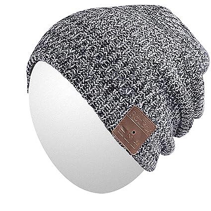 2bea92b1a32 Amazon.com   Qshell Bluetooth Beanie Hat