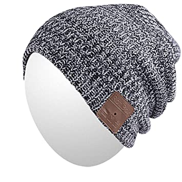 Image result for Qshell Mens Womens Outdoor Bluetooth Music Beanie Hat