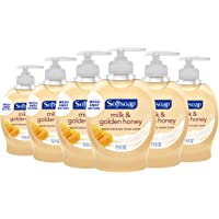 6-Pack Softsoap Liquid Hand Soap, Milk and Honey, 7.5 Fluid Ounce