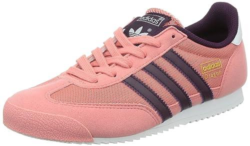 adidas Dragon J, Zapatillas para Niños, Rosa/Morado/Blanco, 35.5 EU: Amazon.es: Zapatos y complementos